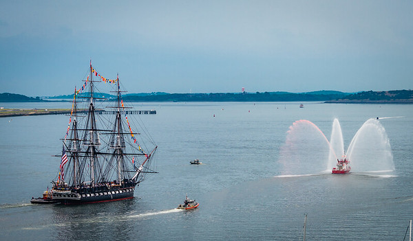 USS Constitution Turnaround July 4th