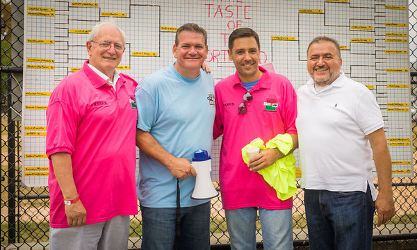(L-R) Jim Martorano, Chris Zizza, Mark Ravanesi and Donato Frattraoli