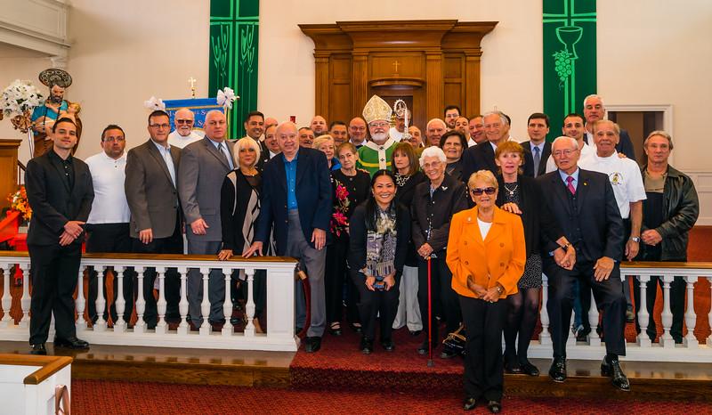 2014-10   Cardinal Sean O'Malley at St. Joseph's Feast Mass