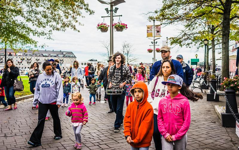 Parade through the Park