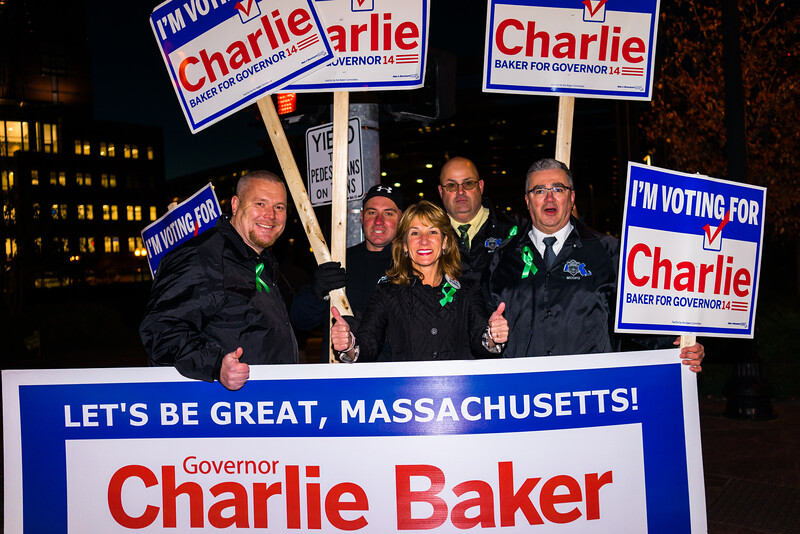 Rally for the Baker - Polito ticket