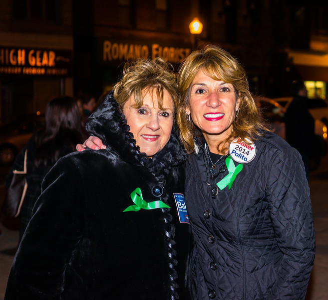 Barbara Sullivan with Lt. Gov. candidate Karen Polito