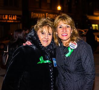 Barbara Sullivan with Lt. Gov. candidate Karyn Polito