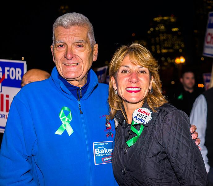 Sal Giarratani with Lt. Governor candidate Karen Polito