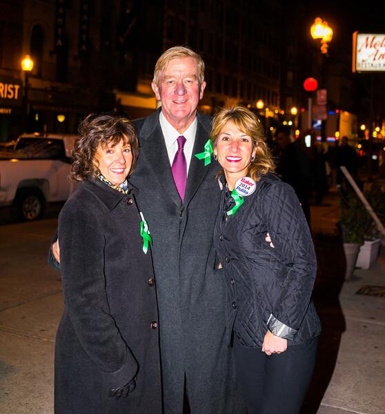 Pamela Donnaruma with Fmr. Governor William Weld and Lt. Gov. candidate Karen Polito