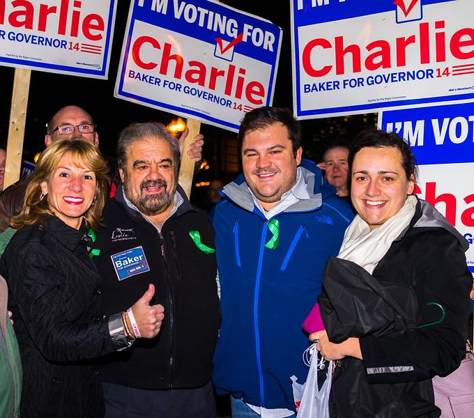 Frattaroli family with Lt. Governor candidate Karyn Polito