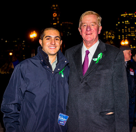 Posing with Fmr. Gov. William Weld