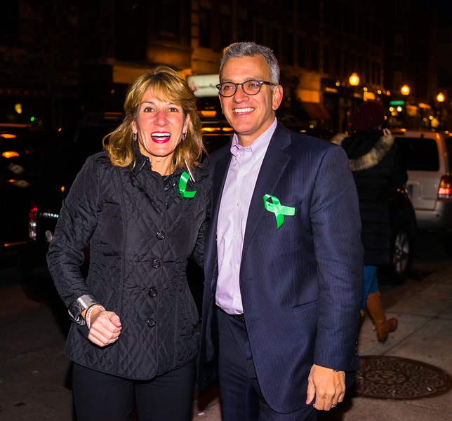 Lt. Governor candidate Karen Polito with former City Councilor Paul Scapicchio