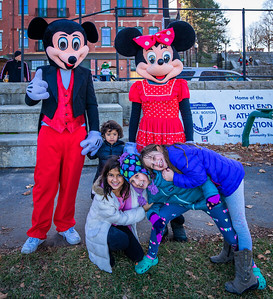 Micky and MInny and the kids
