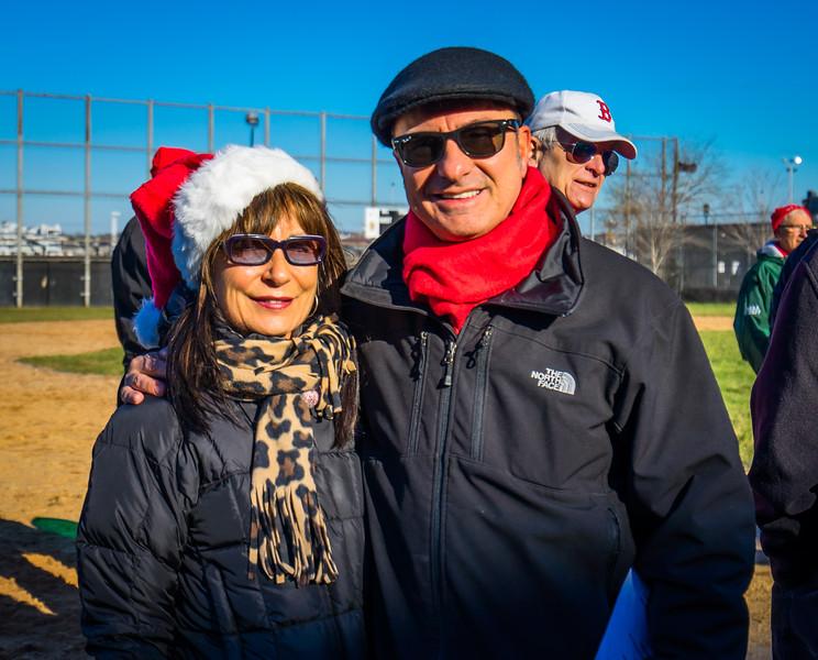 Kathy Carangelo and Councilor Sal LaMattina