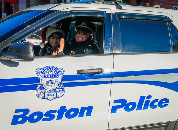 Boston Police and Friend