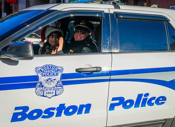 Boston Police and Friend