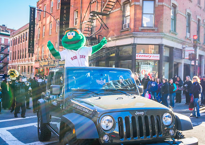 Wally in the Christmas Parade