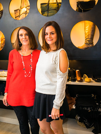 Heart and Sole's Elaine DeGangi and Gina Lines