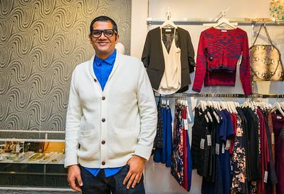 Vishal at LIT Boutique on Hanover Street