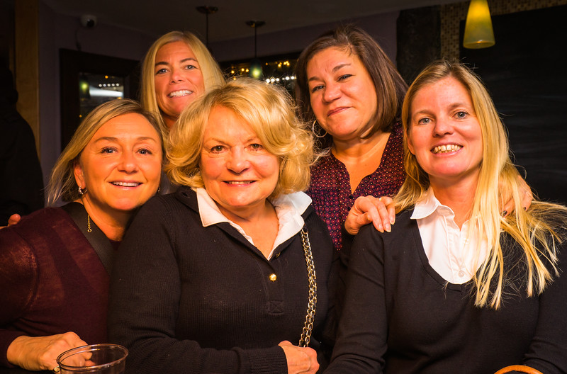 The Ladies at the Holiday Party