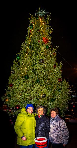 2014-12   Tree Lighting on Cross Street