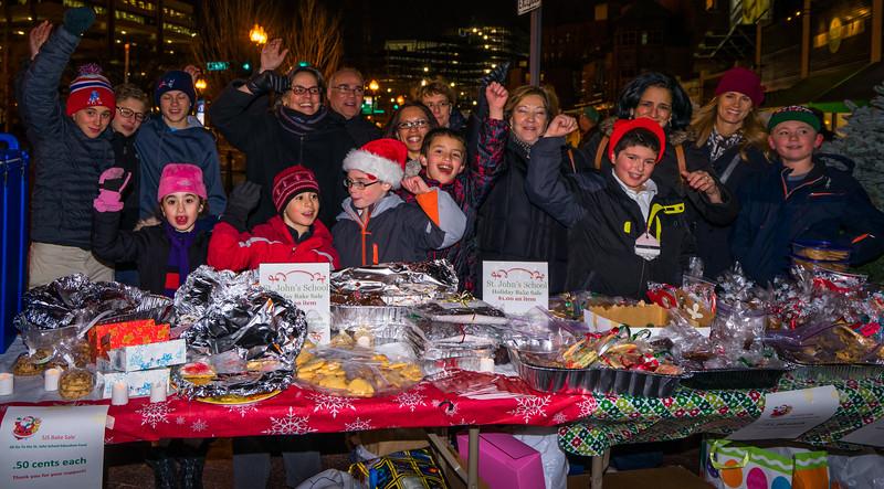 Motivated sellers at the St. John School Bake Sale on Cross Street