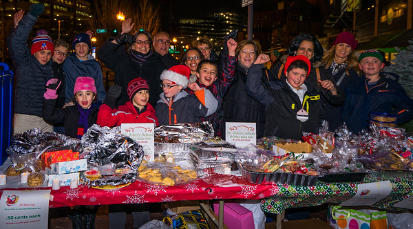 Motivated sellers at the St. John School Bake Sale on Cross Street