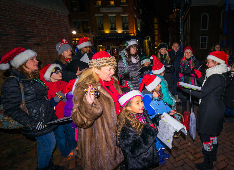 NEMPAC Christmas Carolers on the Prado