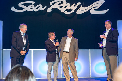 C.N. Ray Award - Mark Schwaboro, Bill McGill, Tim Schiek, Dave O'Connell (L to R)