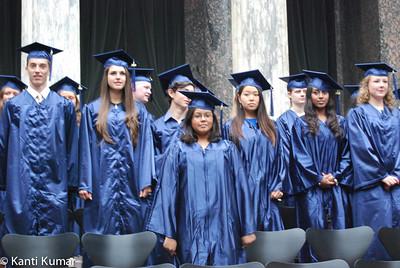 IB graduation ceremony of Copenhagen International School, 4 June 2014