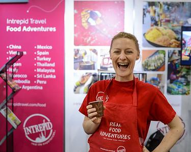 Intrepid Travel Food Adventures - 2014 Good Food & Wine Show, Brisbane Convention & Exhibition Centre, 17-19 October. Photos by Des Thureson - http://disci.smugmug.com.