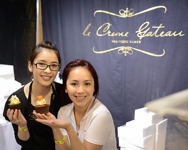 Le Creme Gateau, Boutique Baker - 2014 Good Food & Wine Show, Brisbane Convention & Exhibition Centre, 17-19 October. Photos by Des Thureson - http://disci.smugmug.com.