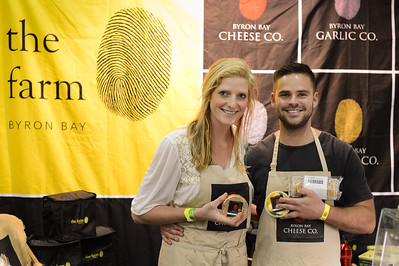 The Farm, Byron Bay, Byron Bay Cheese Co - 2014 Good Food & Wine Show, Brisbane Convention & Exhibition Centre, 17-19 October. Photos by Des Thureson - http://disci.smugmug.com.