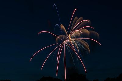2014 Independence fireworks desplay