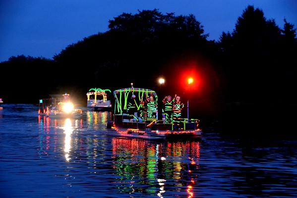 2014 Lighted Boat Parade in Honor of Wm. E. Cedar, St. Clair, MI