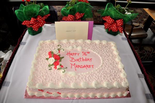 2014 Margaret Kuhn's 96th Birthday at The Voyageur Restaurant, St. Clair, MI