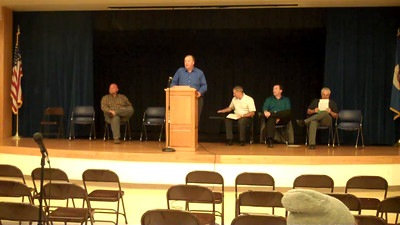 Part 12 of 19: School board candidate introductions Respondents are (in order) Bob Merchant, Tom Schreiner, Shawn Meyer, Sean O'Brien