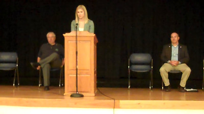 Part 2 of 19: State Representative candidates: Introductions Respondents are (in order) Emily Jensen, Jeff Howe