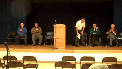 Part 17 of 19: School board candidates question #4 (continued) Respondents are (in order) Tom Schreiner [video continued from previous video], Shawn Meyer, Sean O'Brien