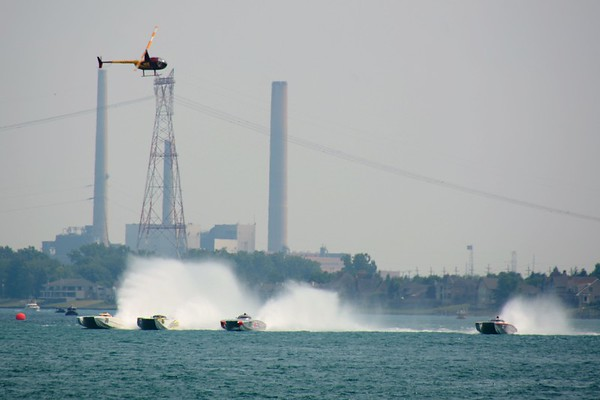 2014 Off Shore Boat Races, St. Clair, MI
