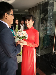 Judging by appearances, Lam is still intending to marry Quan
