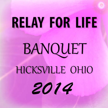 2014 RELAY FOR LIFE BANQUET
