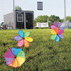 Saturday's Relay for Life included the Garden of Hope, a hillside where loved ones placed pinwheels to encourage the survivors and remember those who had lost their battle with cancer. — Sam Luptak Jr.<br />