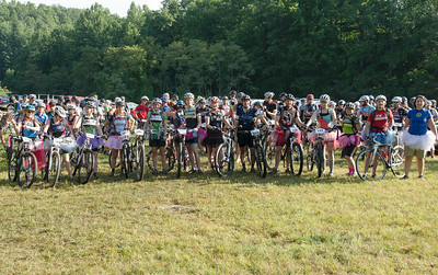 For every tutu worn by a rider, Endless Bikes company makes a donation to the Pisgah Area Sorba!