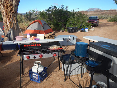 Base Camp 26 miles south of Hanksville, UT
