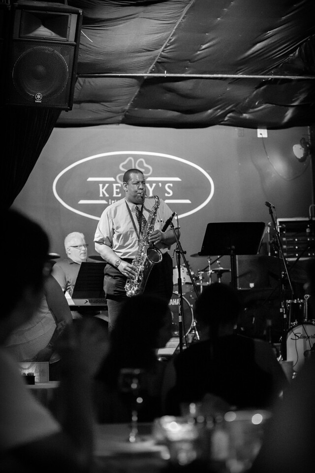Adam Loudin and The Current Jazz Band @ Kelly's Pub during the 2014 Summer Jazz Stroll, Clarksburg, WV