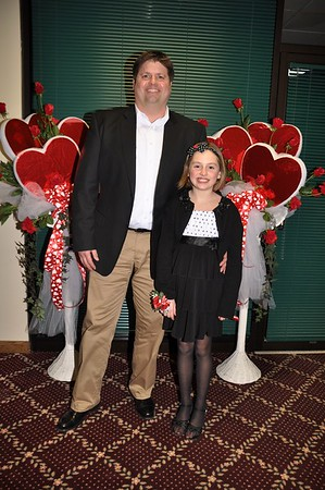 2014 Valentines Dance with Daughter and Dad, St. Clair, MI