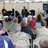 Nearly 100 people came out to hear what three speakers had to say at the revival. — Sam Luptak Jr.<br />