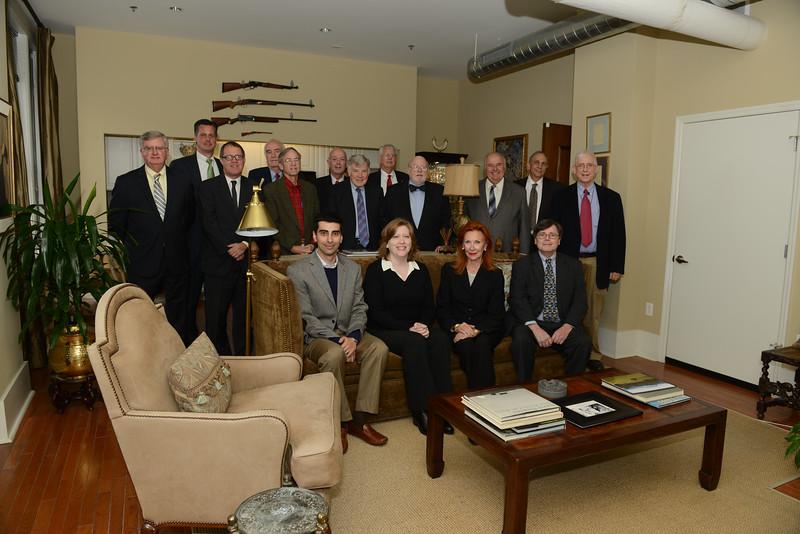 NBA HIstorical Committee Photo Meeting 2014