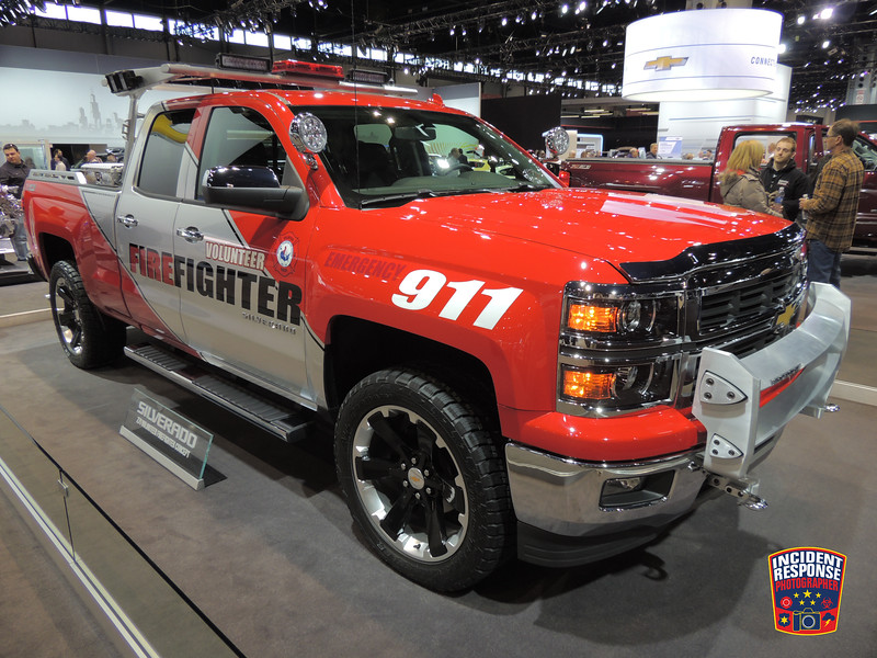 The annual Chicago Auto Show was held at the McCormick Place in Chicago, Illinois from February 8 through February 17, 2014 and featured public safety vehicles and displays. Photo by Asher Heimermann/Incident Response.