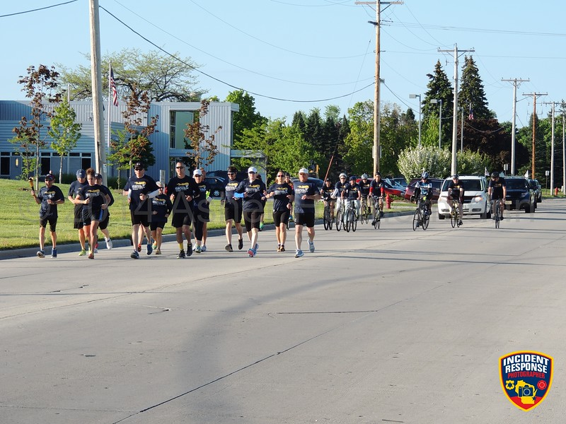 The annual Sheboygan County Law Enforcement Torch Run was held on Friday, June 5, 2014. Photo by Asher Heimermann/Incident Response.