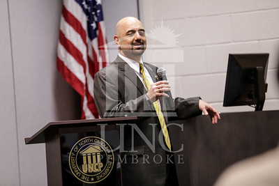 The University of North Carolina at Pembroke School of Business hists the 2014 Business Student and Faculty Scholarship and Award Banquet on Monday, April 14th, 2014. Business Awards_0026.JPG