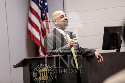 The University of North Carolina at Pembroke School of Business hists the 2014 Business Student and Faculty Scholarship and Award Banquet on Monday, April 14th, 2014. Business Awards_0027.JPG