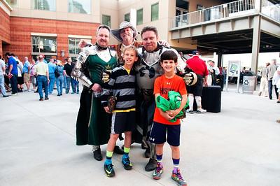 Charlotte Knights Stadium Opening Day 4-11-14